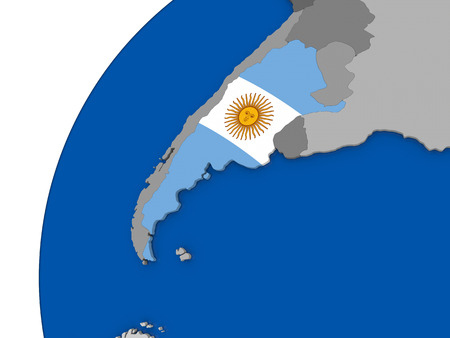 Map Of Argentina Stock Vector Illustration And Royalty Free - Argentina 3d map