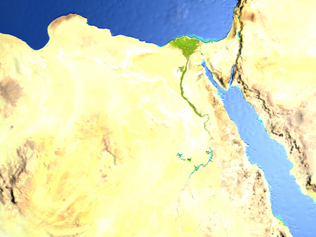 Nile River Map Images Stock Pictures Royalty Free Nile River - Map of egypt with nile river