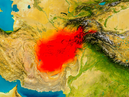 Map Of Afghanistan Stock Photos Royalty Free Map Of Afghanistan - Physical map of afghanistan