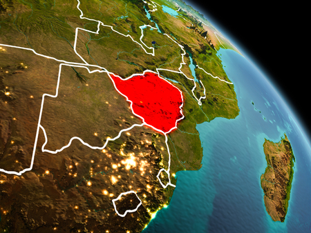 Republic Of Zimbabwe Stock Photos Royalty Free Republic Of - Republic of zimbabwe map