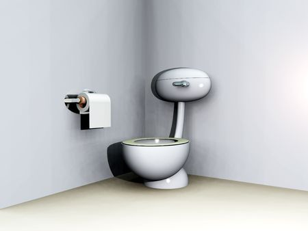 An image of a loo within a bathroom. Stock Photo - 1150576