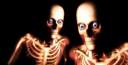 Two Skulls photo