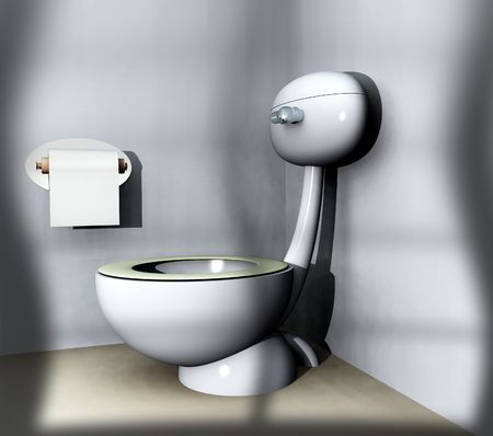 An image of a loo within a bathroom. Stock Photo - 1186207