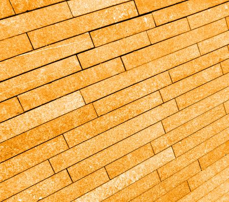 regular: A image of a brick background which was on the pavement.