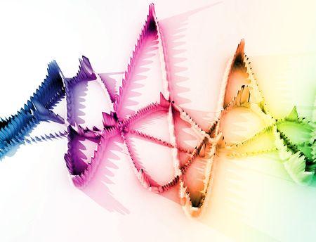 undulation: A image of a spiky oscillation soundwave.