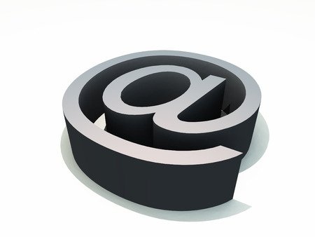 worldwideweb: The symbol that is used in email addresses.
