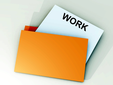 achievable: An image of a file folder with a sheet of paper coming out of it.