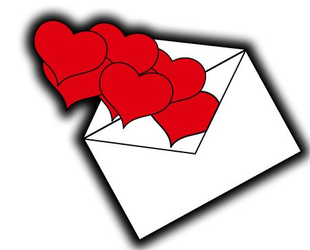 involving: An image of a set of heart symbols on squares, it would be good for images involving romantic concepts and valentines day