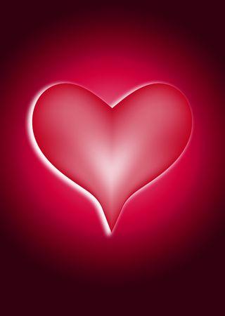 involving: L'immagine di un simbolo del cuore, sarebbe bene per le immagini che coinvolgono i concetti e romantico San Valentino. Archivio Fotografico
