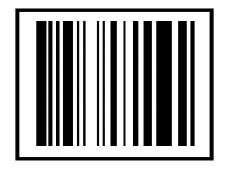 An image of a simple barcode, it could represent retail concepts, and it could represent the technology involved with data concepts. photo