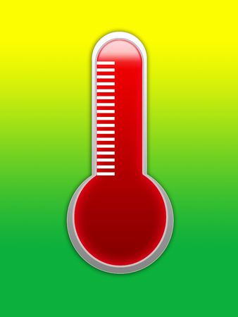 clinical thermometer: A Illustration of a medical thermometer.