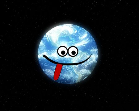 nightime: A very silly and humorous version of Earth.