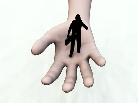 Conceptual image representing help and support. Stock Photo - 4019653