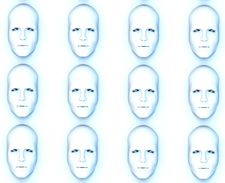 conform: Identical faces for conformity concepts.