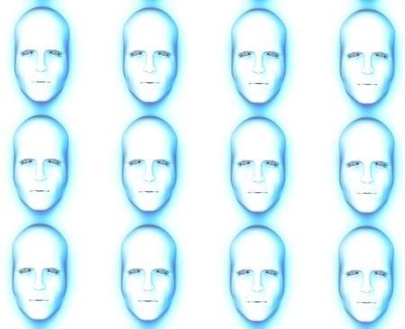 conformity: Identical faces for conformity concepts.