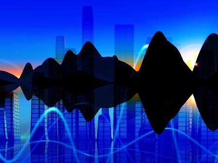 representations: Una mezcla de representaciones de m�sica soundwaves conceptos.
