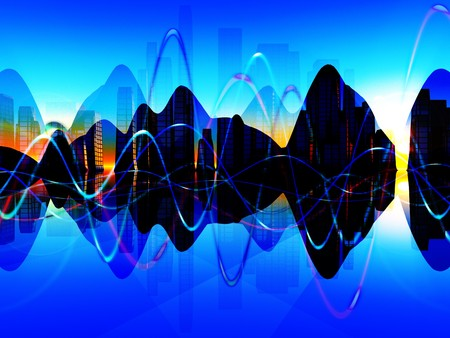 representations: A mix of soundwaves representations for music concepts.