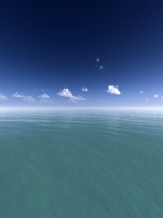 oceanic: An oceanic landscape with sky background.
