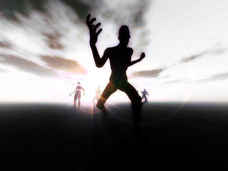 이동 좀비