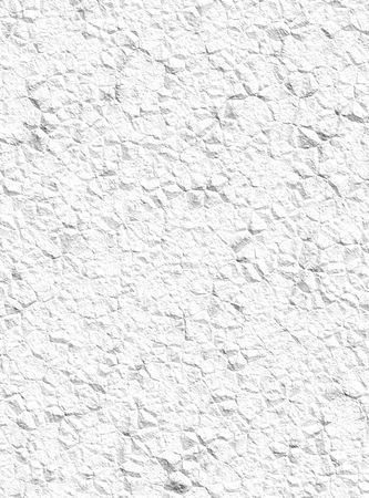 A simple white crumpled paper texture background. Banco de Imagens