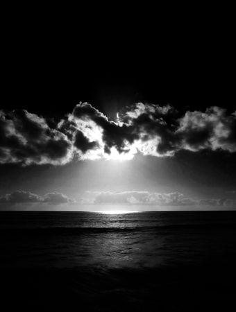 The sunset as seen from Maspalomas beach. Stock Photo - 6218577