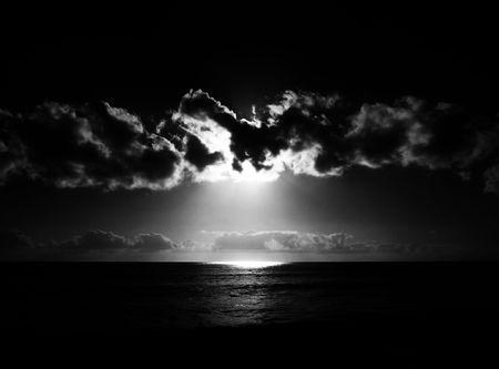The sunset as seen from Maspalomas beach. Stock Photo - 6218579