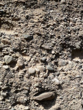 Close up of a rocky ground texture. 스톡 콘텐츠