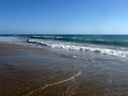 The beach in Maspalomas in Gran Canaria. Stock Photo - 6487442