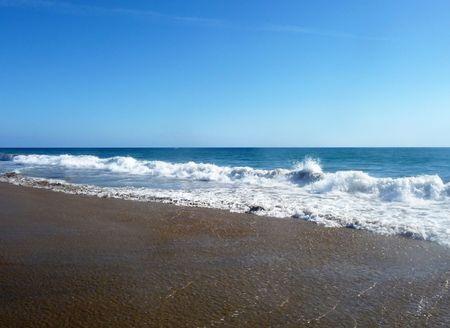The beach in Maspalomas in Gran Canaria. Stock Photo - 6487435