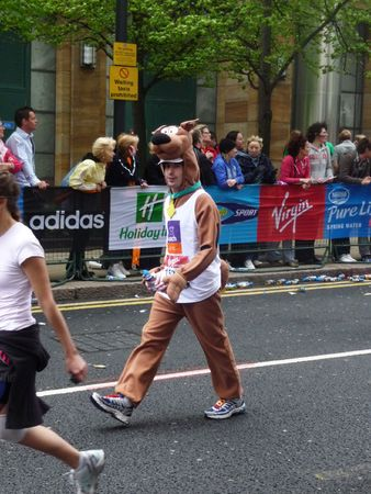 LONDON - APRIL 25: Fun Runners at the 2010 London Marathon April 25th, 2010 in London, England Stock Photo - 7007078