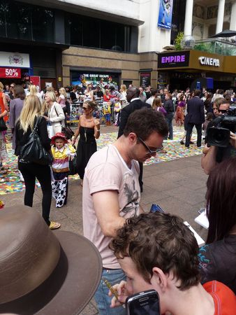 celeb: LONDON - July 18: Danny Dyer at Toy Story 3 Premiere July 18th, 2010 in Leicester Square London, England.