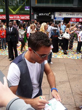 celeb: LONDON - July 18: Gino D Campo at Toy Story 3 Premiere July 18th, 2010 in Leicester Square London, England.
