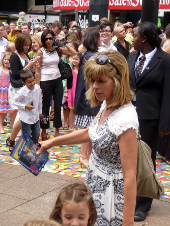eventful: LONDON - July 18: Kate Garraway at Toy Story 3 Premiere July 18th, 2010 in Leicester Square London, England.
