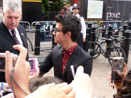 eventful: LONDON - July 1: Joe Jonas at Twilight Eclipse Premiere July 1st, 2010 in Leicester Square London, England.
