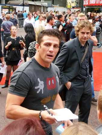LONDON - July 27: Alex Reid  at A Team Premiere July 27th, 2010 in Leicester Square London, England.