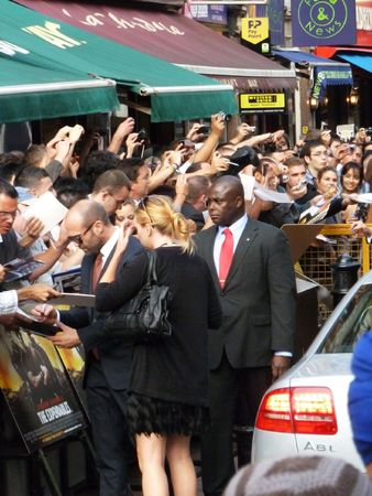 eventful: LONDON - August 9: Jason Statham at The Expendables Premiere August 9th, 2010 in Leicester Square London, England