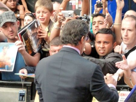 sylvester: LONDON - August 9: Sylvester Stallone at The Expendables Premiere August 9th, 2010 in Leicester Square London, England.