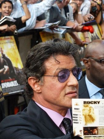 eventful: LONDON - August 9: Sylvester Stallone at The Expendables Premiere August 9th, 2010 in Leicester Square London, England.