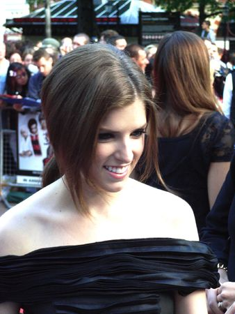 eventful: LONDON - August 18: Anna Kendrick at Scott Pilgrim Vs The World Premiere August 18th, 2010 in Leicester Square London, England.