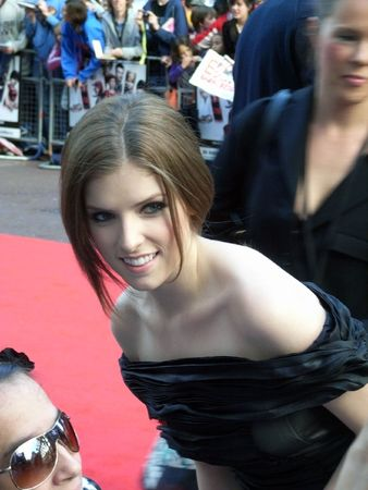 celeb: LONDON - August 18: Anna Kendrick at Scott Pilgrim Vs The World Premiere August 18th, 2010 in Leicester Square London, England.