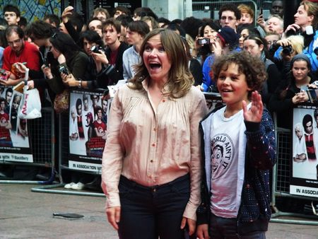 celeb: LONDON - August 18: Jessica Hynes at Scott Pilgrim Vs The World Premiere August 18th, 2010 in Leicester Square London, England.