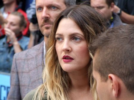 LONDON - August 19: Drew Barrymore at Going The Distance August 19th, 2010 in Leicester Square London, England.