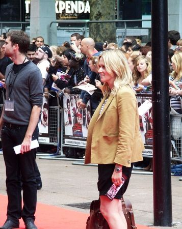eventful: LONDON - August 18: Edith Bowman at Scott Pilgrim Vs The World Premiere August 18th, 2010 in Leicester Square London, England