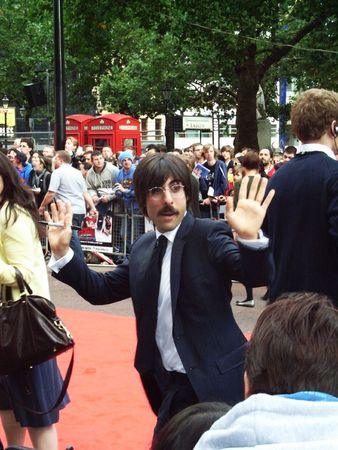 eventful: LONDON - August 18: Jason Schwartzman at Scott Pilgrim Vs The World Premiere August 18th, 2010 in Leicester Square London, England       Editorial