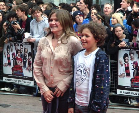 celeb: LONDON - August 18: Jessica Hynes at Scott Pilgrim Vs The World Premiere August 18th, 2010 in Leicester Square London, England.                                   Editorial