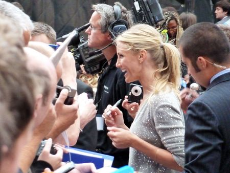 eventful: LONDON - July 22: Cameron Diaz at the Knight And Day Premiere July 22nd, 2010 in Leicester Square London, England.