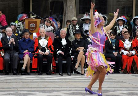 councilor: LONDON - SEPTEMBER 26: Mayors At The Pearly Kings And Queens Harvest Festival September 26th, 2010 In The City Of London, England.                       Editorial