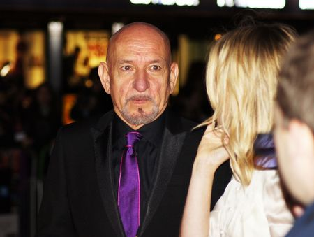 eventful: LONDON - October 11: Sir Ben Kingsley At The Never Let Me Go Premiere October 11, 2010 in Leicester Square London, England.         Editorial