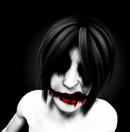 clownophobia: A evil and psychotic and sinister female clown.