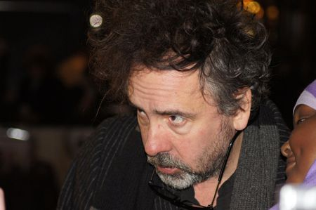 kooky: LONDON - October 21: Tim Burton At The Kings Speech Premiere October 21, 2010 in Leicester Square London, England.